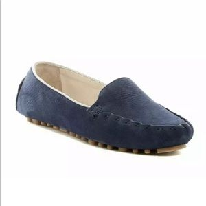 Cole Haan Cary Venetian Suede Driving Flat Loafers